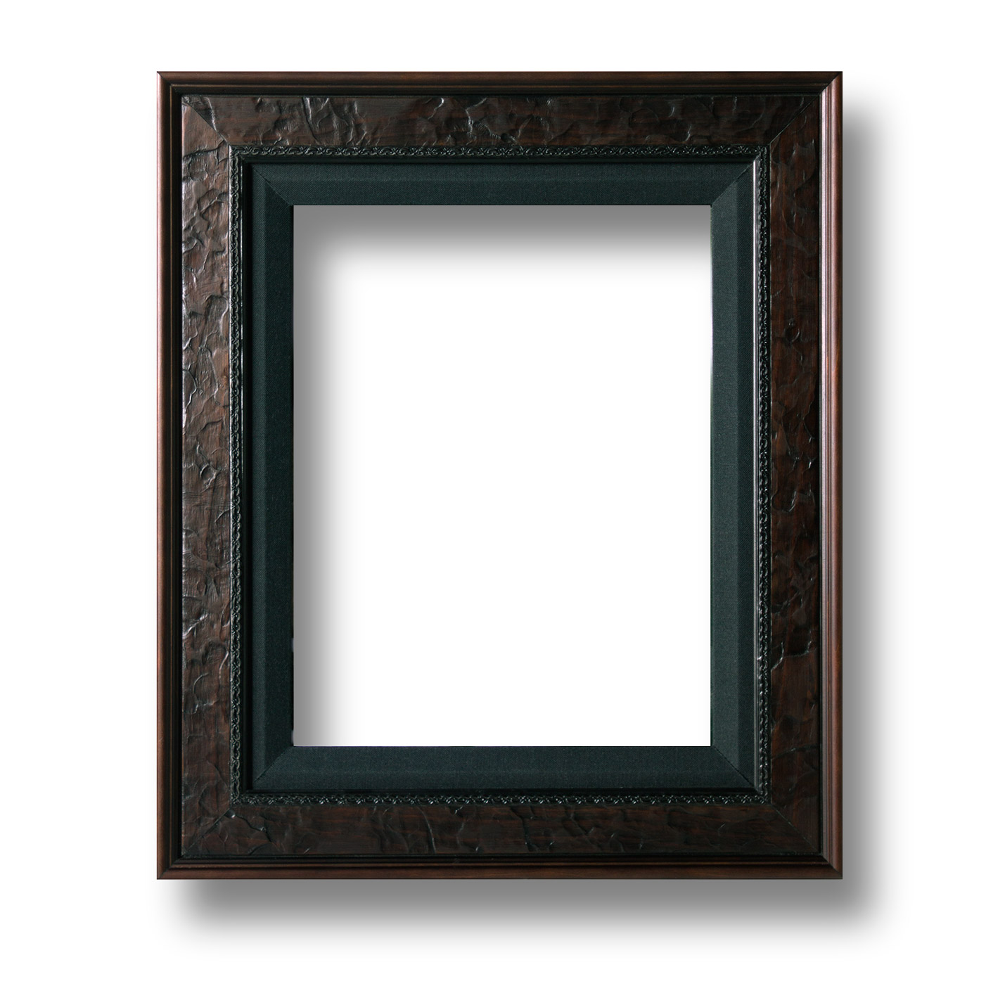 Frame-1(Leather/black linen) |