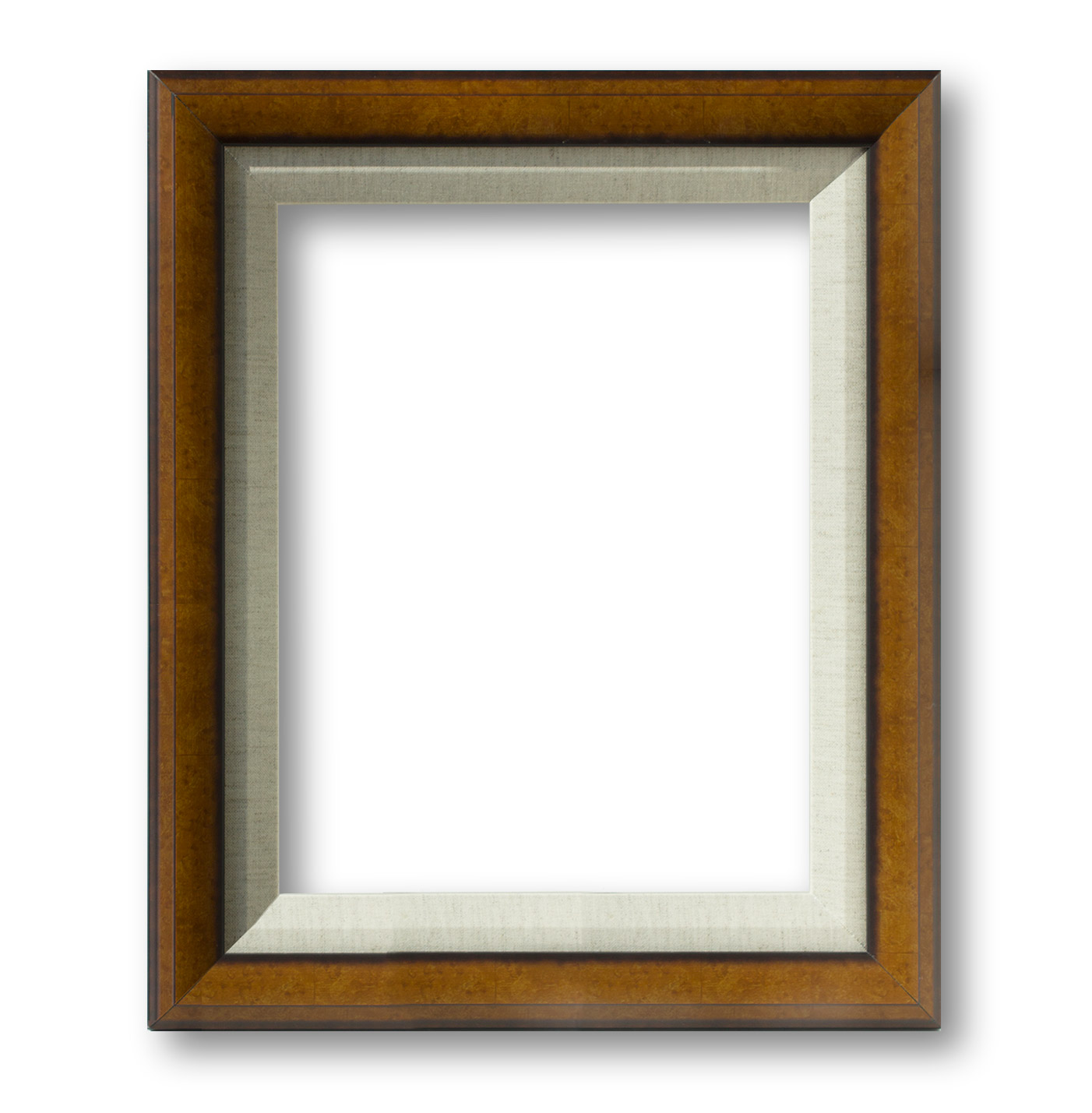 Frame-3 (Honey with Linen liner) |